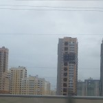 Новые районы - город развивается, население увеличивается.